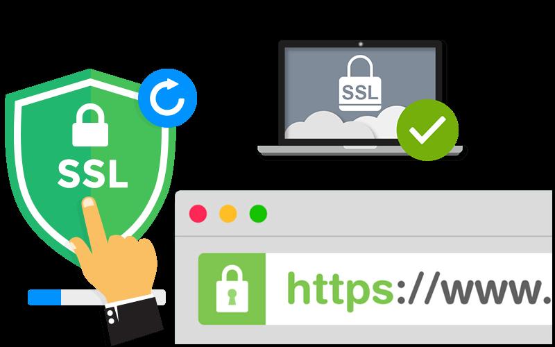 SSL گواهی نامه امنیتی